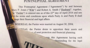Postnuptual Agreement