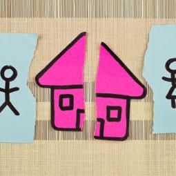 Illustration of asset property division