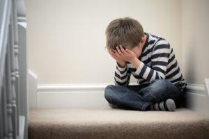 children bounce divorce