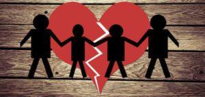 Illustration of Divorce child custody