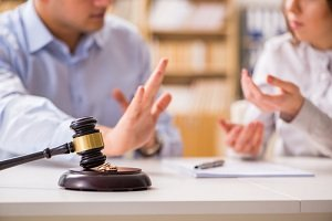 couple working with a separation lawyer