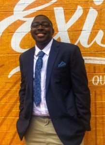 Christopher Everett is one of the recipients of the Charles Ullman Law Firm Scholarship
