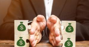 separating money or assets on divorce